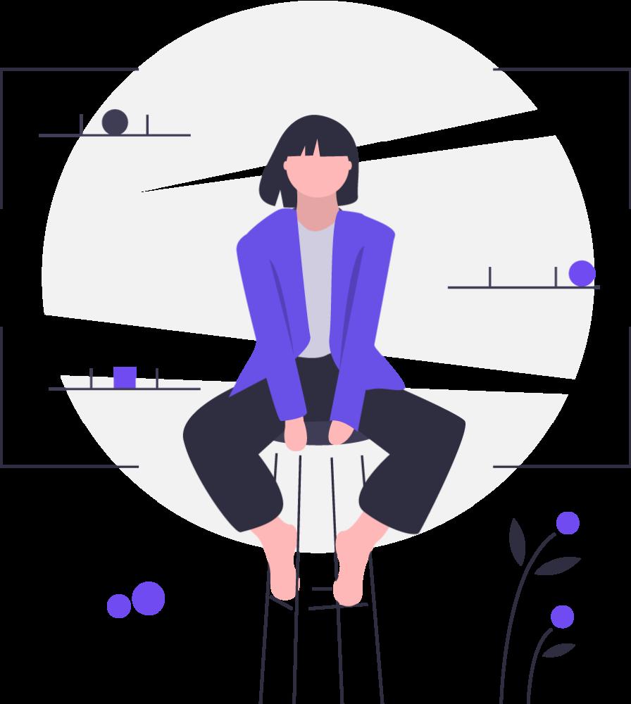 女性のイラスト|レカムジャパン